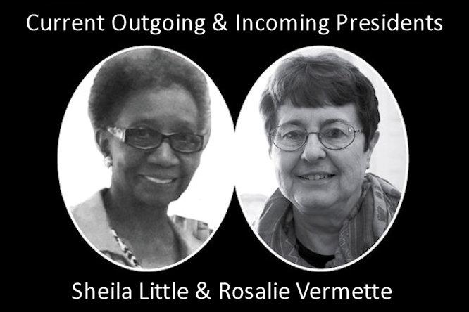 Sheila Little and Rosalie Vermette
